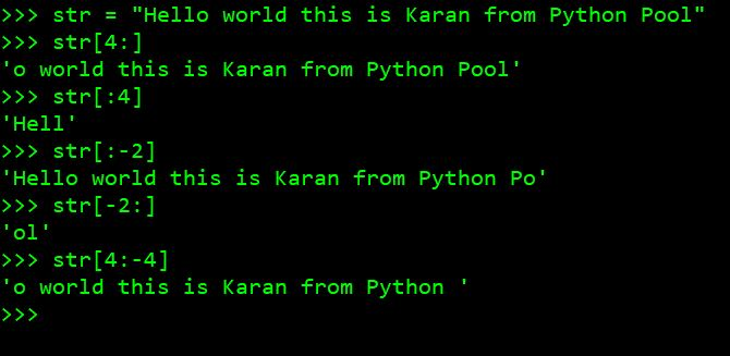 Терминал Python