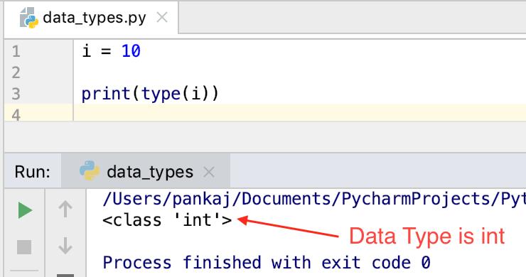 Типы данных Python