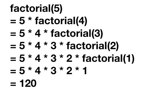 Пример функции рекурсии Python