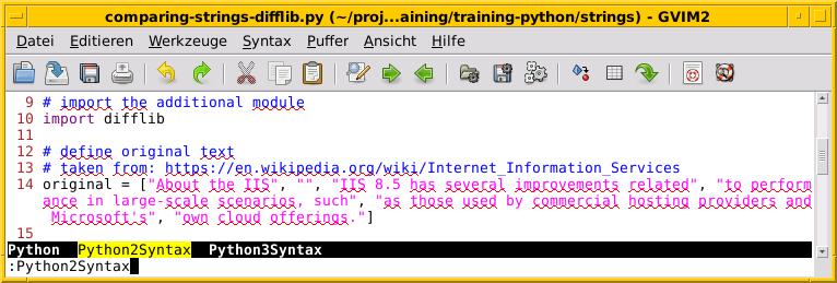 Изменение между Python 2 и 3